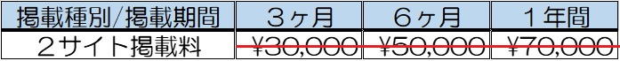 掲載料01